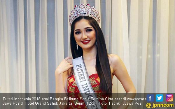 Puteri Indonesia 2018 Sonia Fergina Citra - JPNN.COM