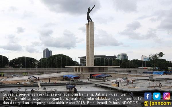 Revitalisasi Lapangan Banteng - JPNN.COM