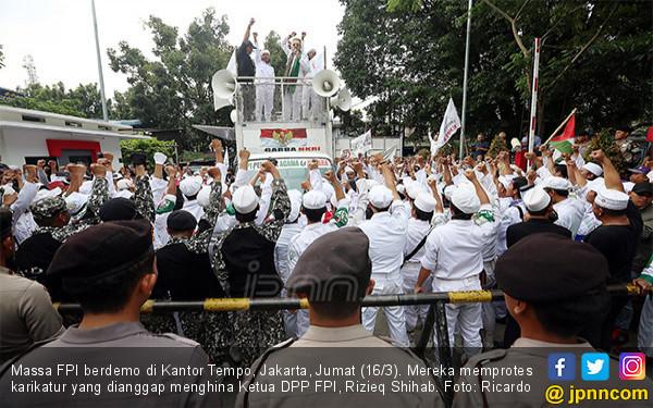Siapa yang Memerintahkan Laskar FPI Menyerang Polisi? - JPNN.com