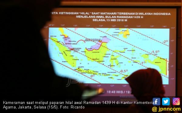 Paparan Hilal Awal Ramadan 1439 H - JPNN.COM
