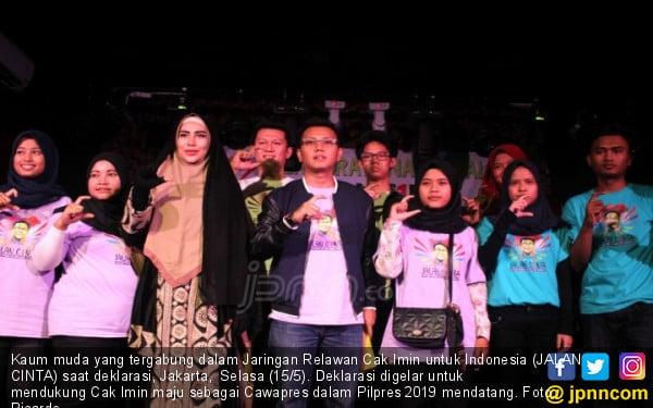 Deklarasi Jaringan Relawan Cak Imin untuk Indonesia (JALAN CINTA) - JPNN.COM
