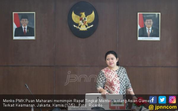 Rapat Tingkat Menteri Asian Games - JPNN.COM