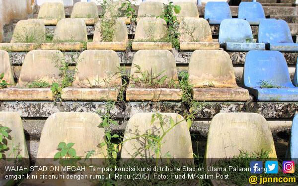Miris, Beginilah Kondisi Stadion Utama Palaran Kini - JPNN.COM
