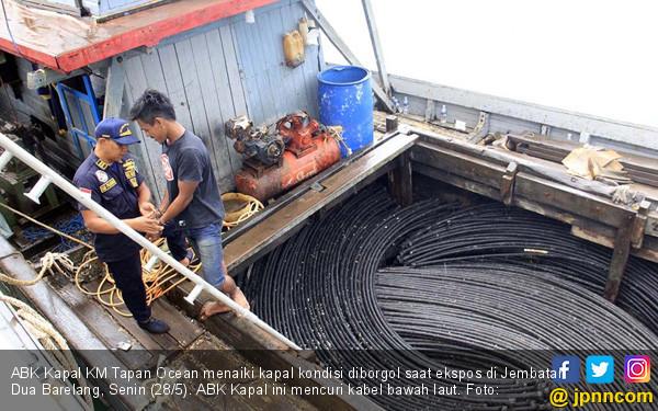 Bakamla Ringkus Kawanan Pencuri Kabel Optik - JPNN.COM