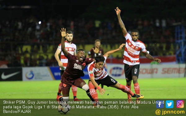 PSM Makassar VS Madura United - JPNN.COM