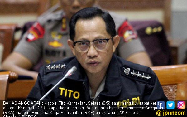 Ketua DPR Ingatkan Kapolri Tak Ikut Politik Praktis 2019 - JPNN.COM