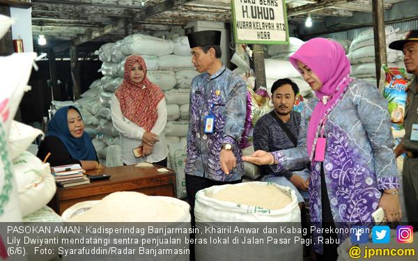 Kadisperindag Banjarmasin SIdak Pasar - JPNN.COM