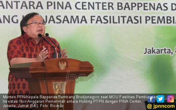 Gali Potensi Pembiayaan Alternatif, PTPN Holding gandeng PINA Center-Bappenas - JPNN.COM