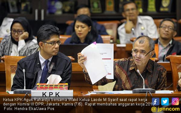 KPK Raker Bersama Komisi III DPR RI - JPNN.COM