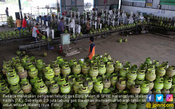 Lebaran, Malang Siagakan 2,9 Juta Gas Elpiji - JPNN.COM