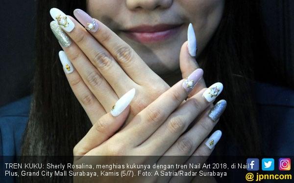 Tren Nail Art 2018 - JPNN.COM