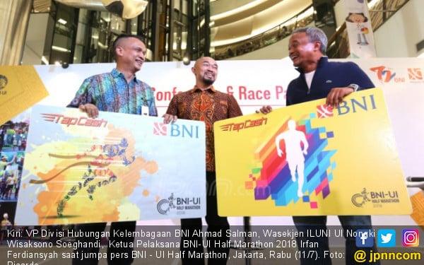 BNI - UI Half Marathon - JPNN.COM