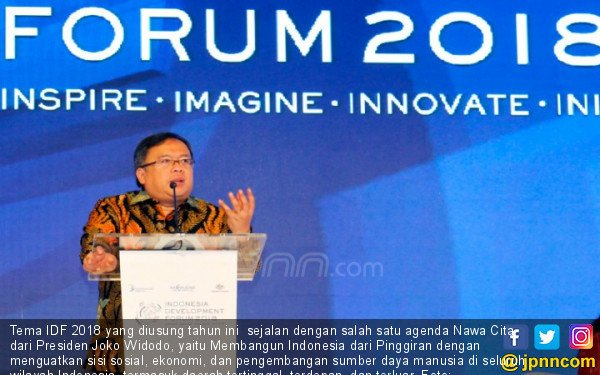 Indonesia Development Forum (IDF) 2018 - JPNN.COM
