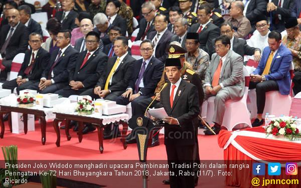 Apresiasi Setinggi-tingginya Dari Jokowi untuk Polri - JPNN.COM