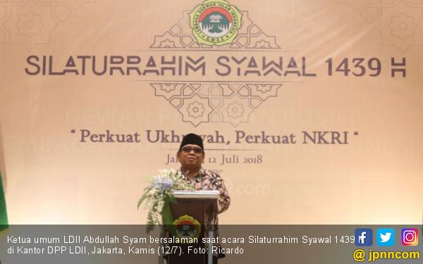 Zulkifli Hasan Hadiri Silaturahmi Syawal 1439 H LDII - JPNN.COM