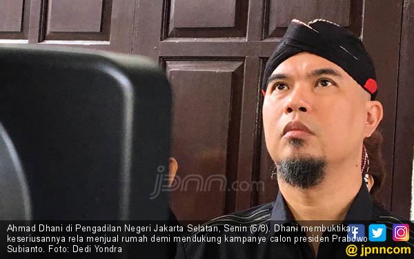 Ahmad Dhani Ogah Pakai Masker, Ini Alasannya... -