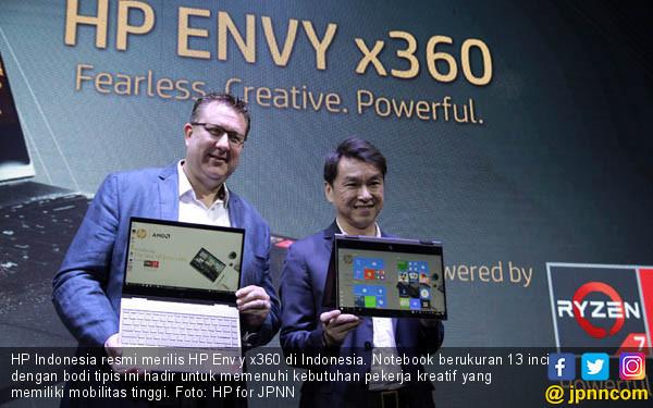 Keren! HP Luncurkan Notebook Envy x360 - JPNN.COM