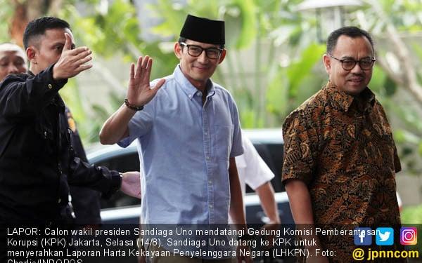 Sandiaga Mengaku Tak Berburu Suara di Palu - JPNN.com