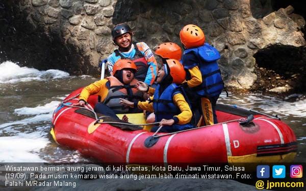 Wisata Arung Jeram Kali Brantas - JPNN.COM