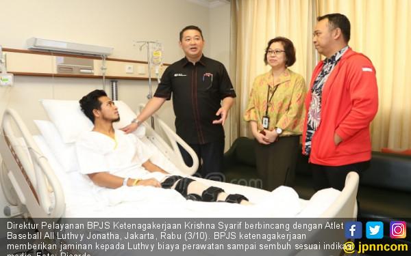 BPJS Ketenagakerjaan Berikan Jaminan Kecelakaan Kerja Kepada Atlet - JPNN.COM