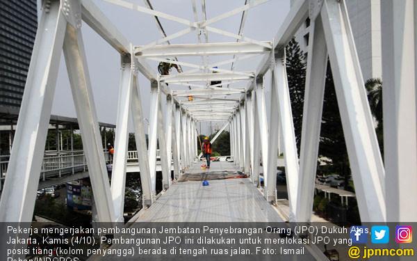 Proyek JPO Dukuh Atas - JPNN.COM