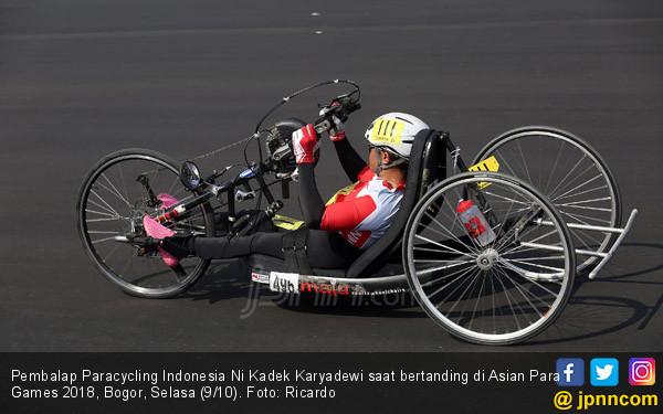 Pembalap Paracycling Ni Kadek Karyadewi - JPNN.COM