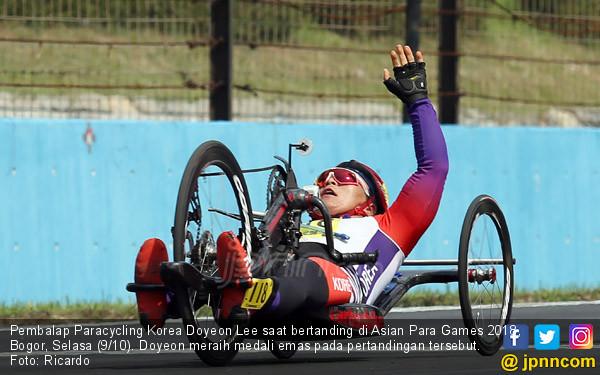 Pembalap Paracycling Korea Doyeon Lee - JPNN.COM