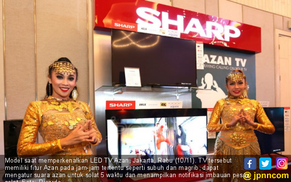 Sharp Luncurkan LED TV Azan - JPNN.COM
