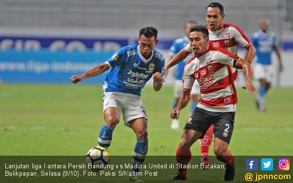 Persib Bandung VS Madura United - JPNN.COM