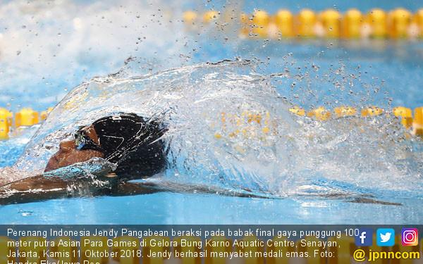 Perenang Jendy Pangabean Sumbang Emas - JPNN.COM