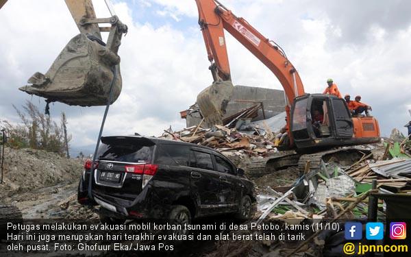 11 Oktober Jadi Hari Evakuasi Terakhir di Palu - JPNN.COM