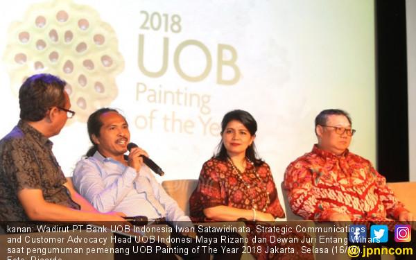 Pengumuman Pemenang 2018 UOB Painting of The Year 2018 - JPNN.COM