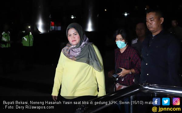 Bupati Bekasi Digelandang ke Markas KPK - JPNN.COM