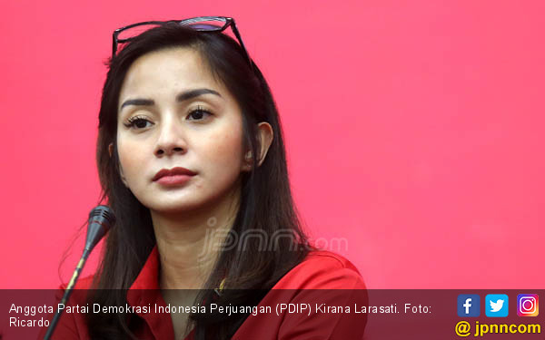 Nyaleg, Kirana Larasati Tetap Tak Lupa Urus Anak - JPNN.COM