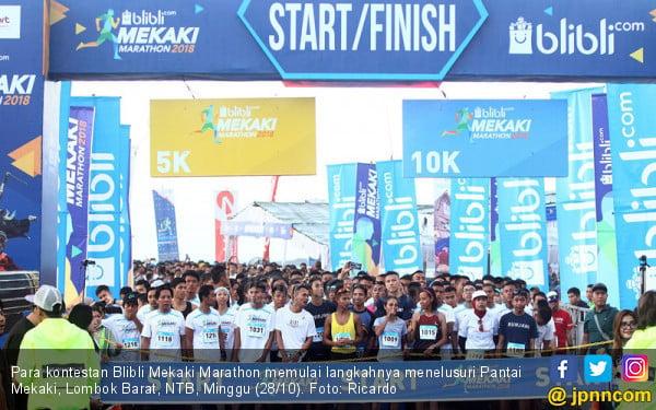 Blibli Mekaki Marathon 2018 - JPNN.COM