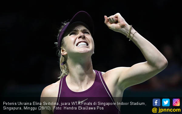 Elina Svitolina Juarai WTA Finals - JPNN.COM