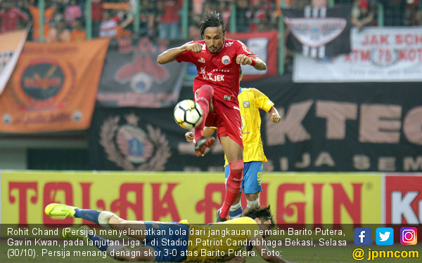 Persija Jakarta Taklukkan Barito Putera - JPNN.COM