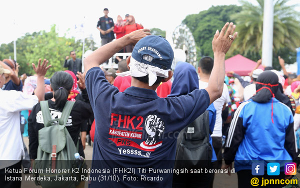 Honorer K2 Papua Barat Minta Diangkat PNS - JPNN.com
