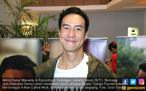 Dalami Peran, Daniel Mananta Temui Ahok - JPNN.COM