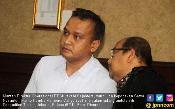 Keponakan Setnov Dituntut 12 Tahun Penjara - JPNN.COM