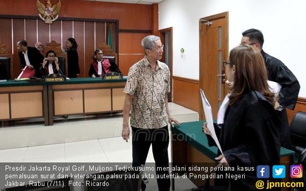 Presdir Jakarta Royal Golf Jalani Sidang Perdana - JPNN.COM