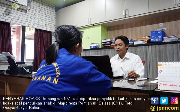 Polresta Pontianak Garap Penyebar Hoaks - JPNN.COM