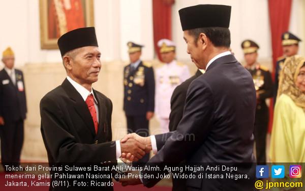 Tokoh dari Provinsi Sulawesi Barat Ahli Waris Almh. Agung Hajjah Andi Depu - JPNN.COM