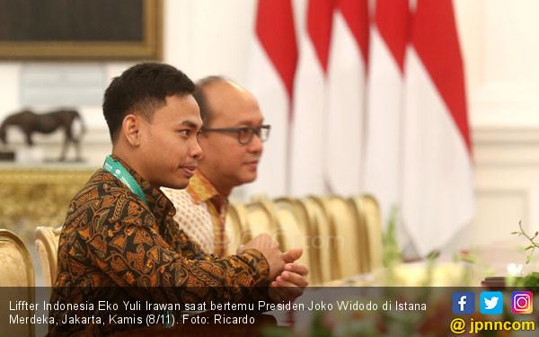 Liffter Indonesia Eko Yuli Irawan - JPNN.COM