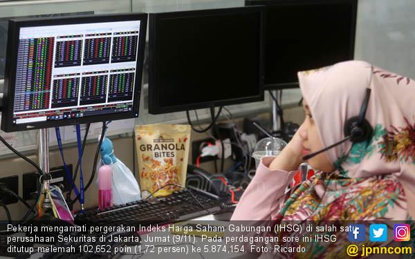 IHSG Alami Penurunan 1,72 Persen - JPNN.COM