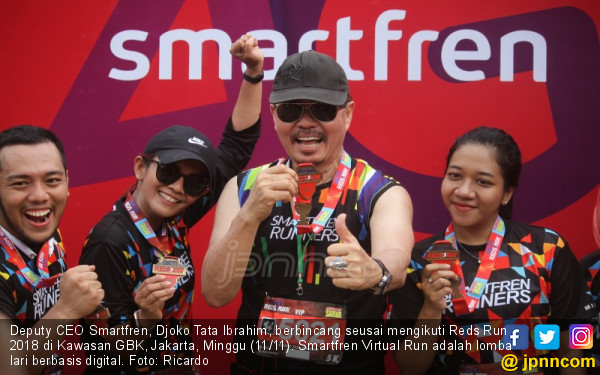 Smartfren Dukung Even Lari Reds Run 2018 - JPNN.COM