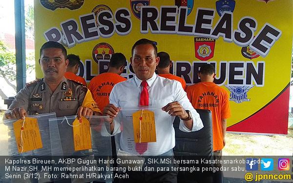 Polres Bireuen Ciduk Para Pengedar Sabu - JPNN.COM