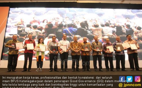 KPK Berikan Penghargaan Kepada BPJS Ketenagakerjaan - JPNN.COM