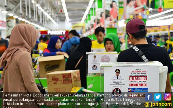Pemkot Bogor Terapkan Belanja Tanpa Kantong - JPNN.COM