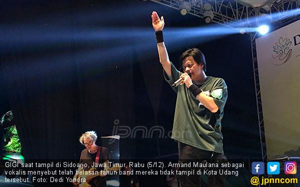 Gigi Lepas Rindu di Kota Udang - JPNN.COM